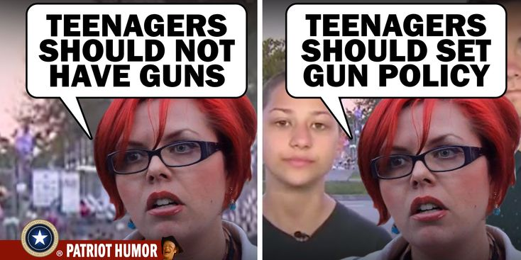 you know what teenager's opinions of gun policy is? for teens not to have guns