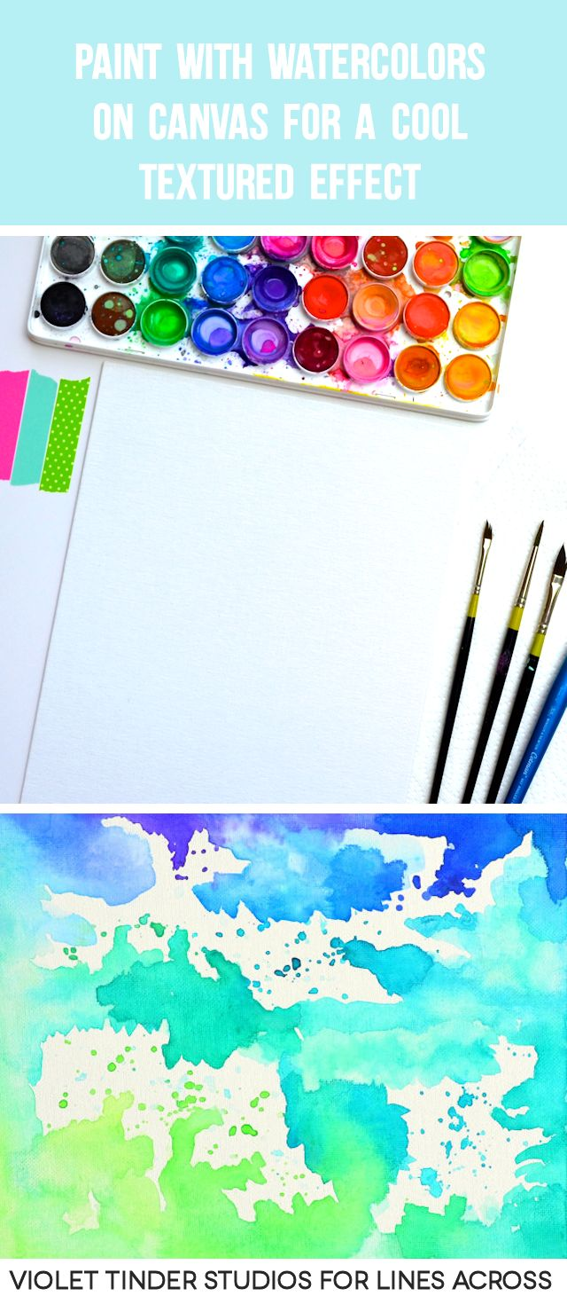 25+ Best Ideas About Abstract Watercolor Tutorial On