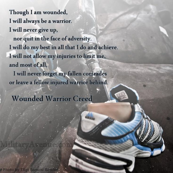 Wounded Warrior Project-  We are planning on doing a group run in support of the Wounded Warrior Project this July!