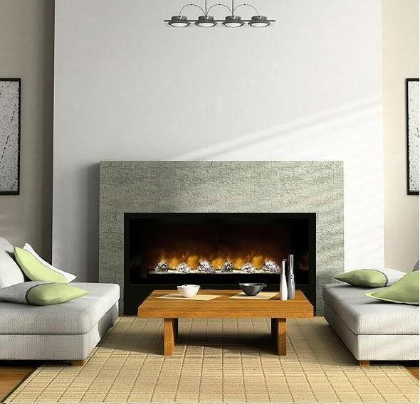 Best 25 contemporary electric fireplace ideas on pinterest for Contemporary fireplace insert