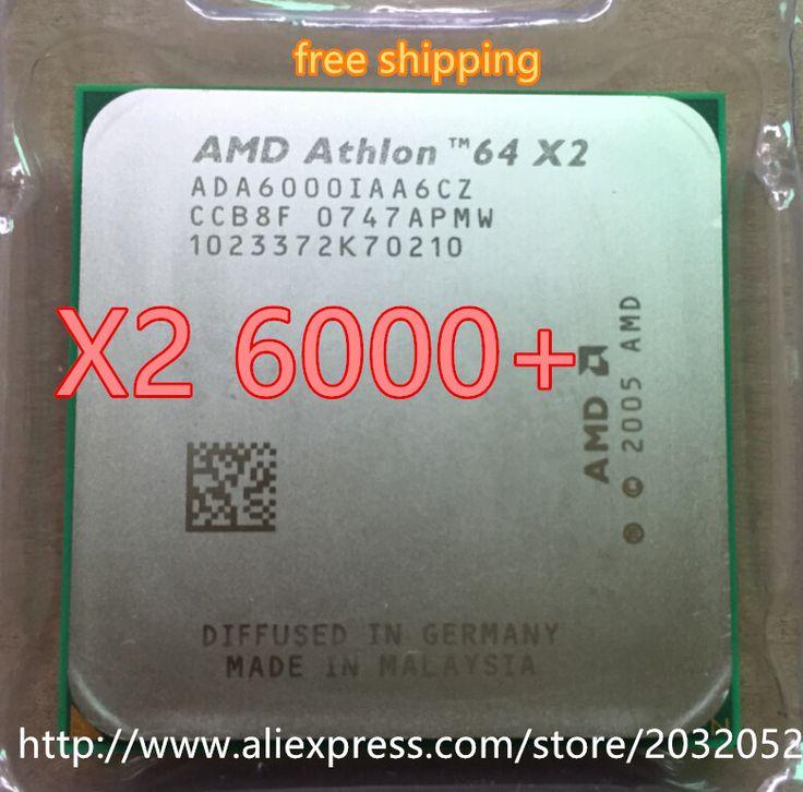 Original AMD DUAL Core Athlon 64 X2 6000+ 3.0 GHZ Socket AM2 2mb cache CPU processor