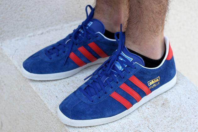 #adidas Gazelle OG Blue Red