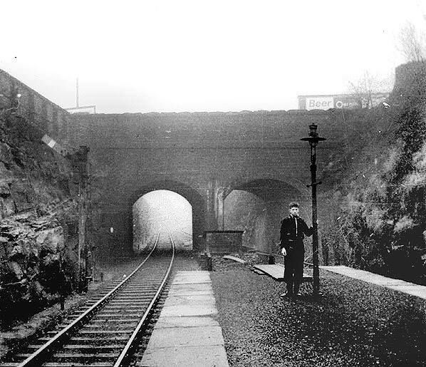 Liscard And Poulton Station, Looking Towards Seacombe