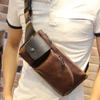 New Fashion Men Messenger Bags PU Leather Outdoor Sport Wading Chest Pack Cross body Sling Single Shoulder Bag Men Unisex - http://www.aliexpress.com/item/New-Fashion-Men-Messenger-Bags-PU-Leather-Outdoor-Sport-Wading-Chest-Pack-Cross-body-Sling-Single-Shoulder-Bag-Men-Unisex/32332088157.html