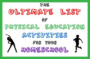 LOTS of ideas for Physical Education... This list is diversely interesting and full of choices.