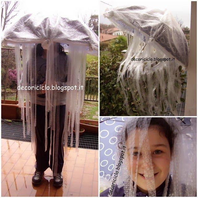 decoriciclo: costume da medusa fai-da-te