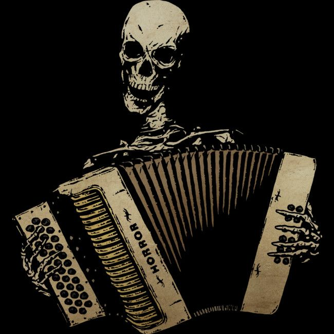 The Piano Accordion Blues is a T Shirt designed by matthewdunnart to illustrate your life and is available at Design By Humans