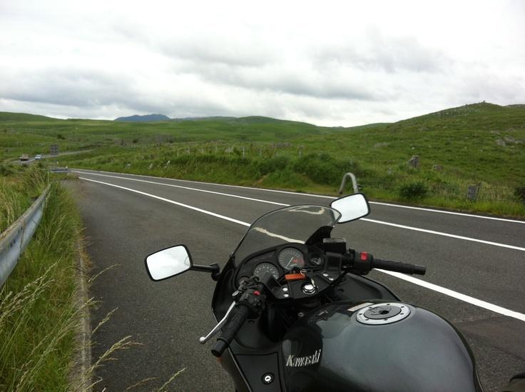 山口県 秋吉台 Japan #road ZZR400  Akiyoshidai is the largest karst plateau in Japan.