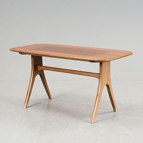"""CARL MALMSTEN, soffbord, """"Lilla sällskapet"""", Åfors Möbelfabrik, 1900-talets andra hälft."""