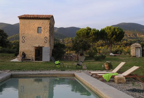 a gorgeous renovated barn in the provence, france
