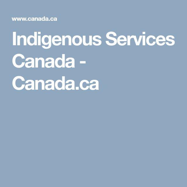 Indigenous Services Canada - Canada.ca