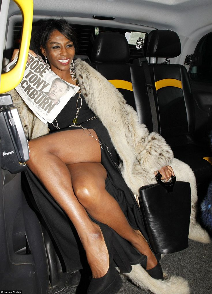 Legs for days! The stunning star showed there's no age to stop partying the night away as she laughed while jumping into the back seat, giving an air of being ready to carry on regardless