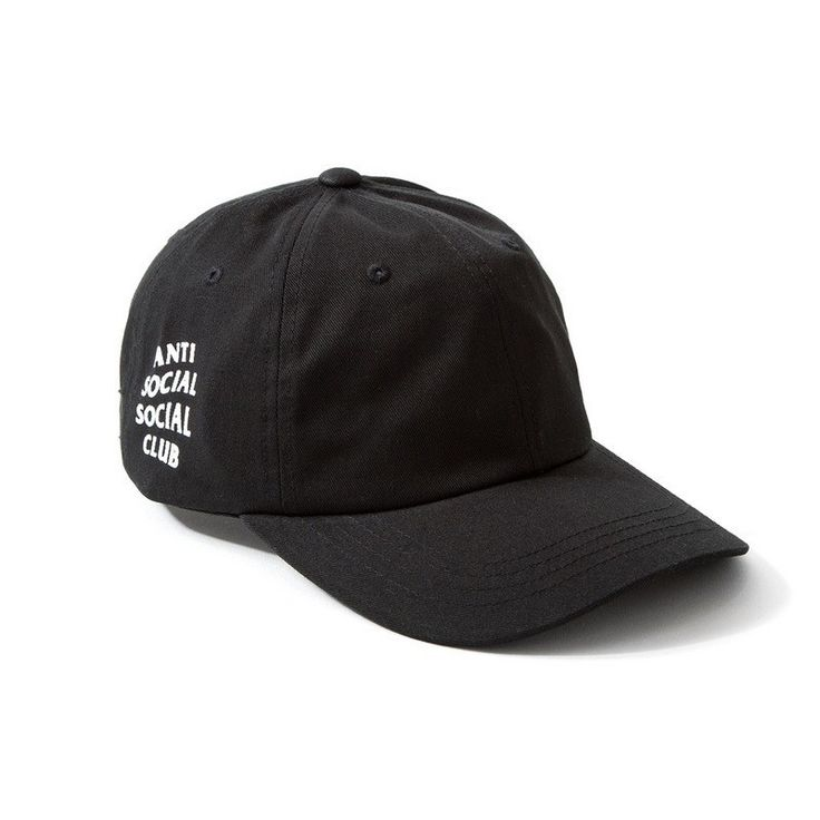 """Anti-Social Social Club"" Embroidered Hat"