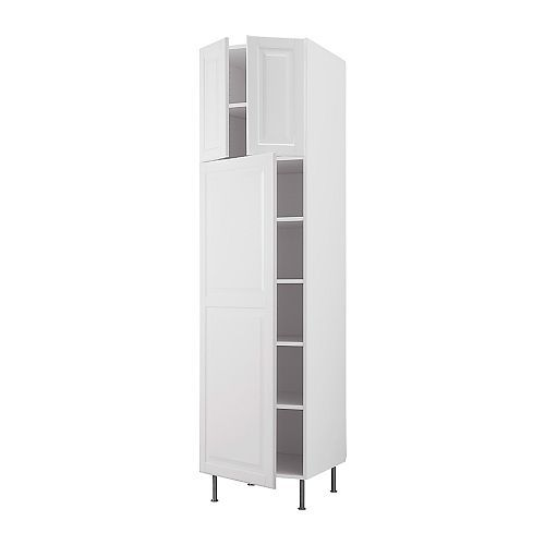 AKURUM High Cabinet With Shelves/3 Doors IKEA Adjustable