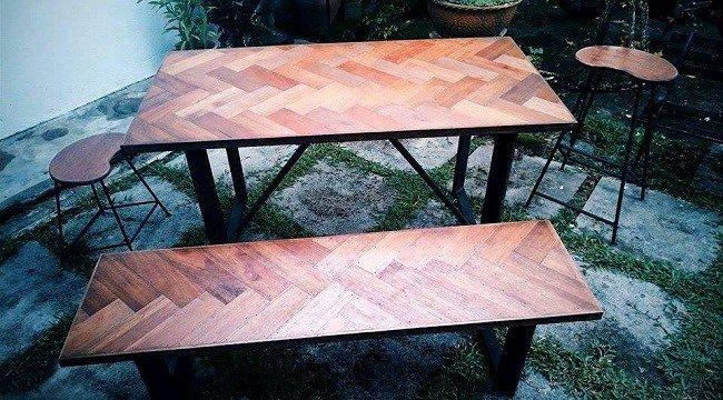 Kerja tangan duo 'tukang kayu' muda | Pepatung