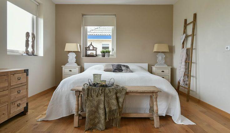 Meer dan 1000 idee n over landelijke stijl slaapkamers op pinterest frans platteland - Slaapkamer stijl volwassene ...