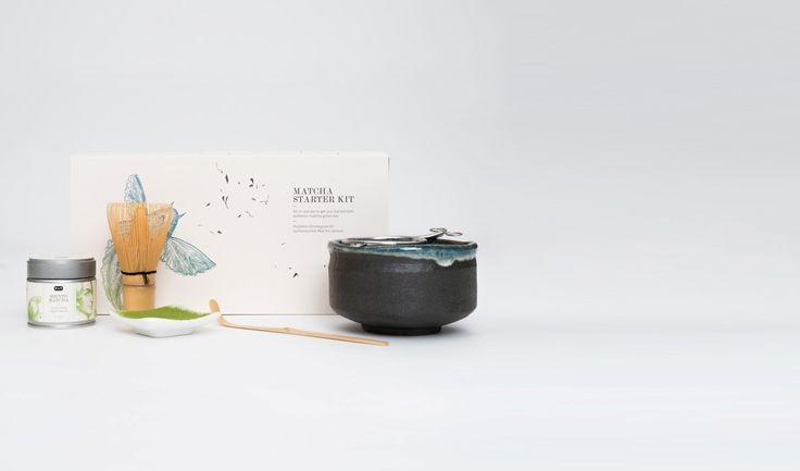 "Matcha Starter Kit   Matcha Einsteigerset   Tee Geschenkset   Matcha   plus Schale   ""Matcha Starter Kit"" von P & T"