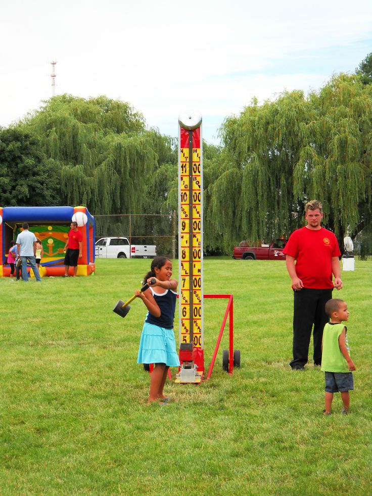 High Striker Carnival Games chicago Party Rentals