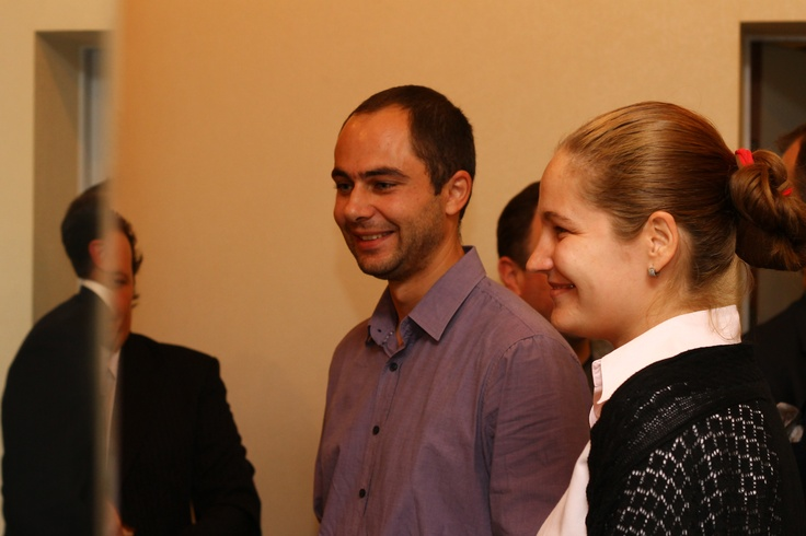 "YM 2012 - Andrei Chirileasa - ""Ziarul Financiar"" and Corina Chirileasa"