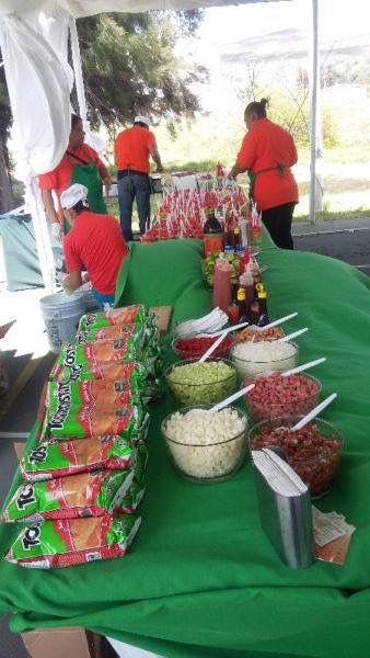 Barra de tostitos  Botanas en 2019  Mexican fiesta party