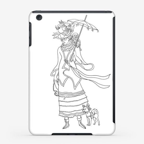 Чехол iPad Осень, Автор: Наталья Якунина, Цена: 2300 р.