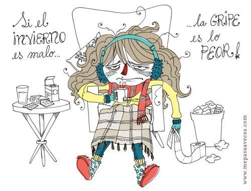 """En autonomía"" - Me pasa a veces - Ilustración de Vero Rodríguez: http://home.verorodriguez.cl"