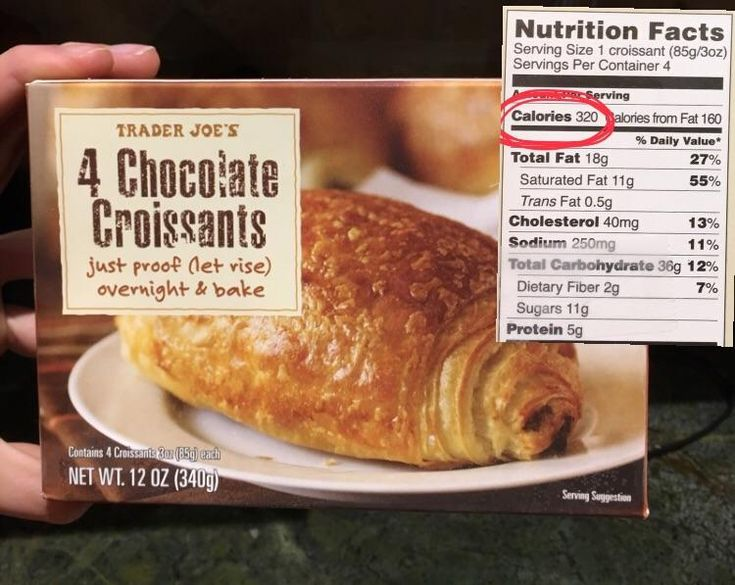 Crazy rich and delicious chocolate croissant from Trader Joes- only 320 calories!