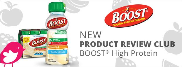 New Product Review Club Offer: BOOST® High Protein