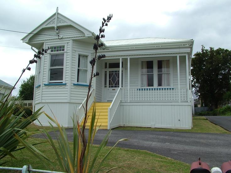 weatherboard NZ house