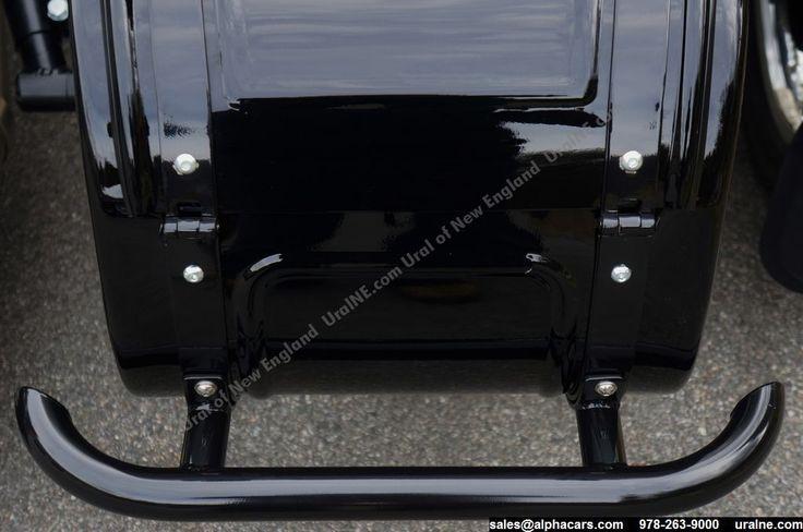Sidecar Rear Bumper