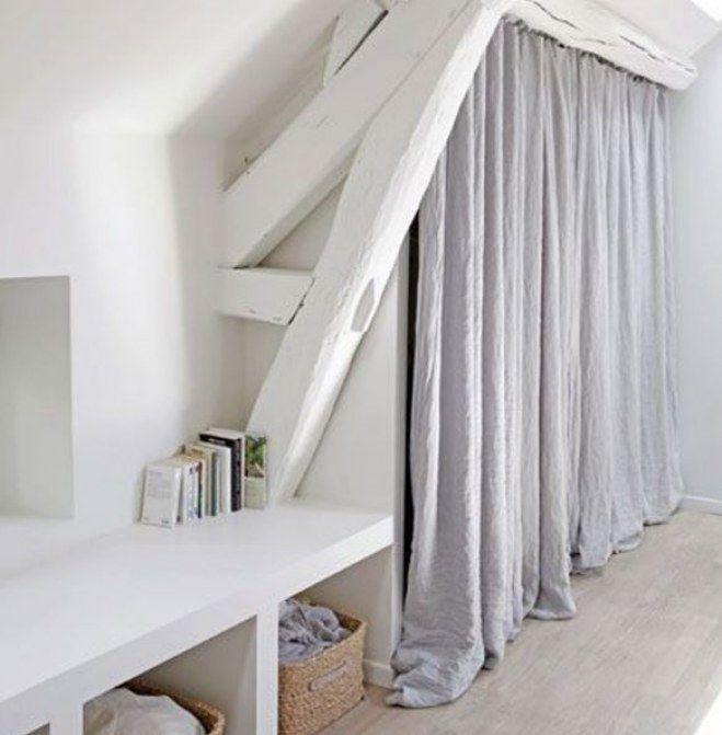 Die besten 25+ Dachschräge gestalten Ideen auf Pinterest - schlafzimmergestaltung mit dachschrage