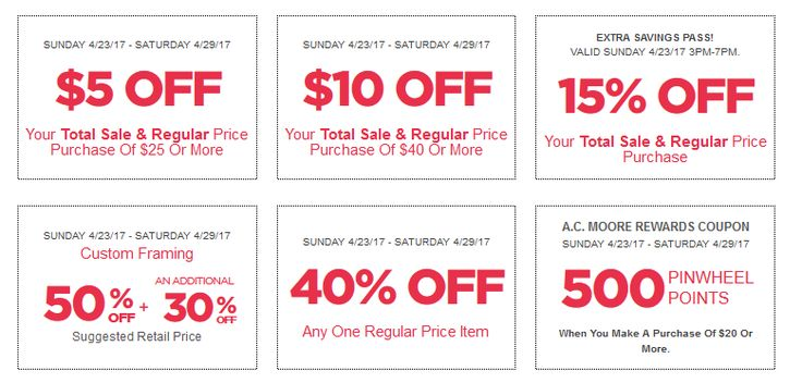 AC Moore Coupon April 23 - 29, 2017 - http://www.olcatalog.com/home-garden/ac-moore/ac-moore-coupons.html