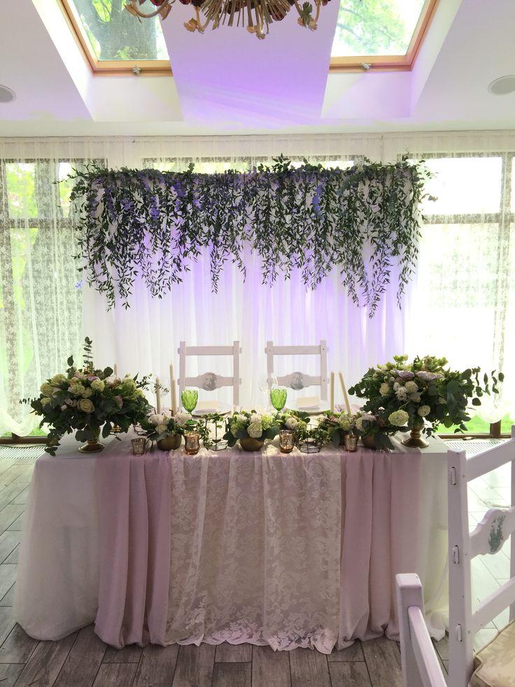 Президиум Свадьба в стиле ботаник ...