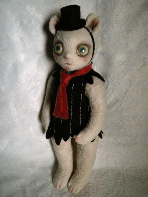 Noriko Okamura: Scary Kid (Bear) 2010年度ゴールデンジョージ賞(ドイツ)の画像:ノリコ・オカムラ・ドールズ