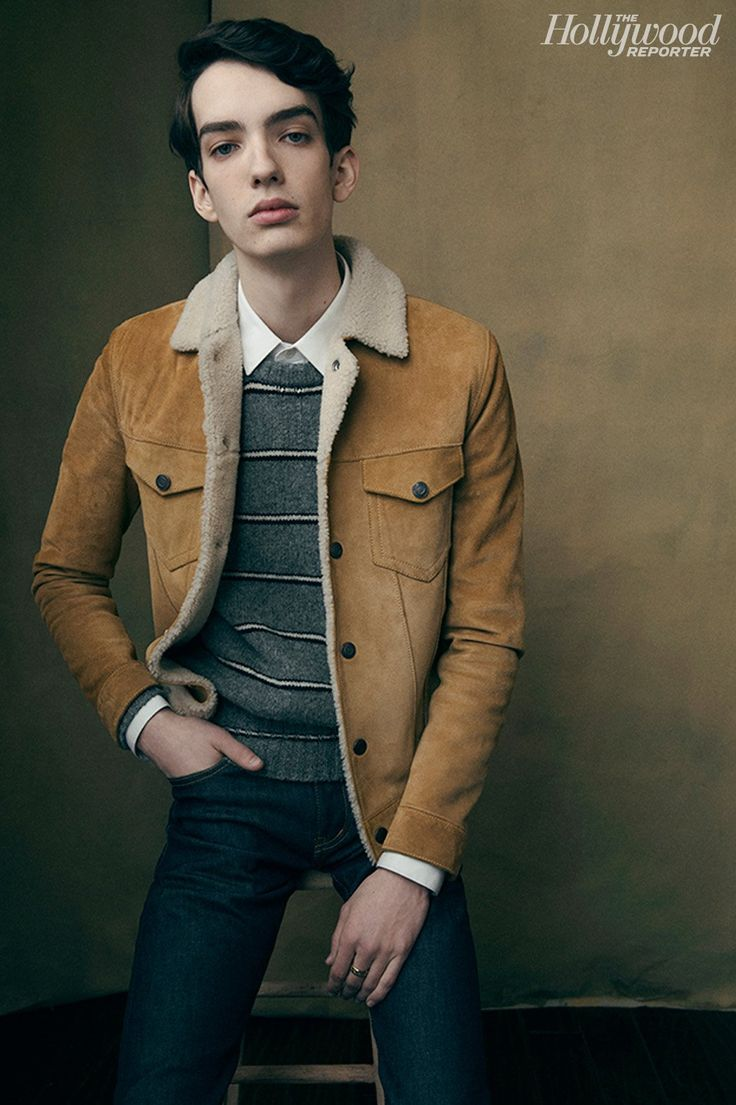 Slow West's Kodi Smit-McPhee photographed at The Hollywood Reporter photobooth at the 2015 Sundance Film Festival in Park City, Utah on Jan. 24, 2015.