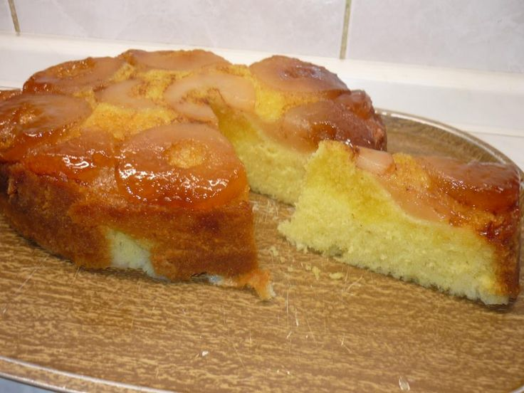 obrácený koláč