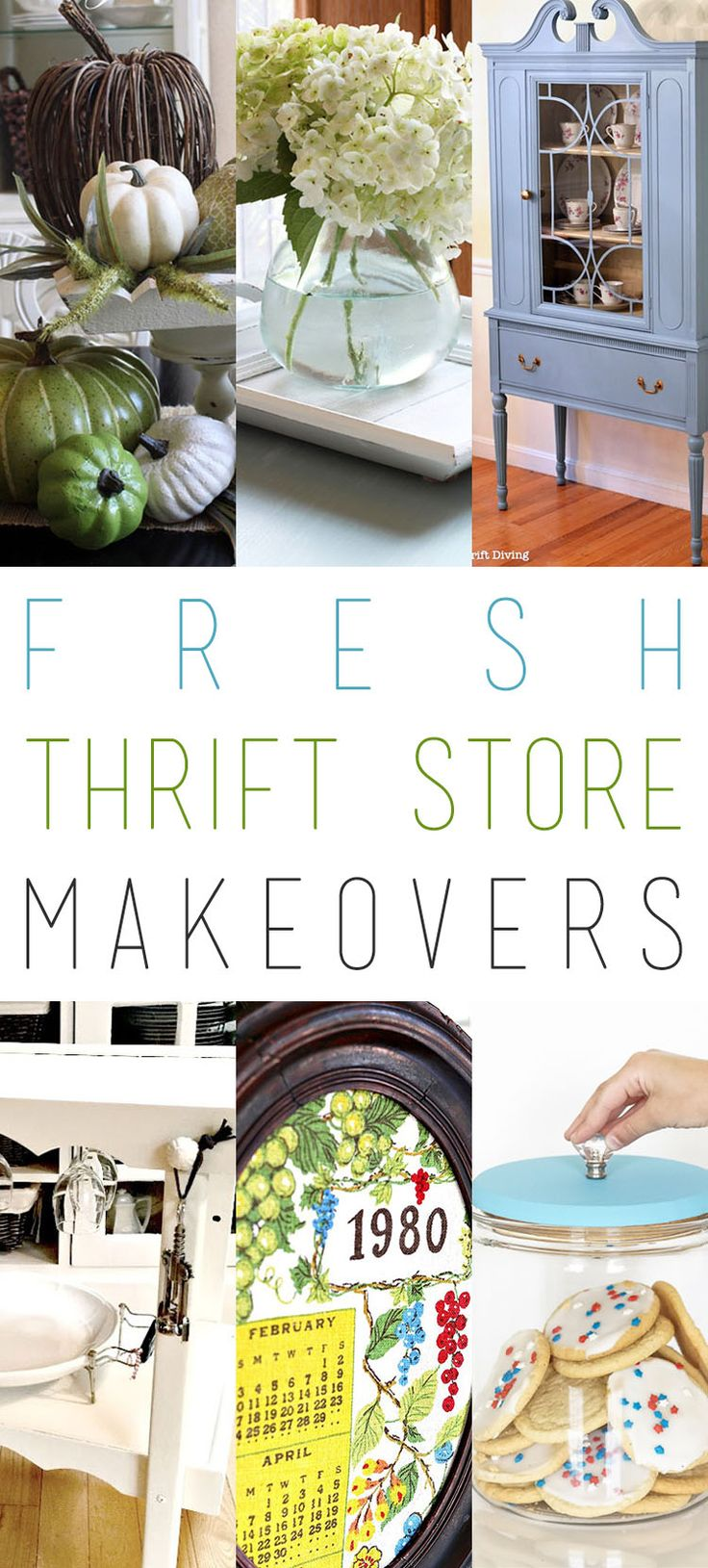446 best Thrift Store Makeovers images on Pinterest | Dollar stores ...