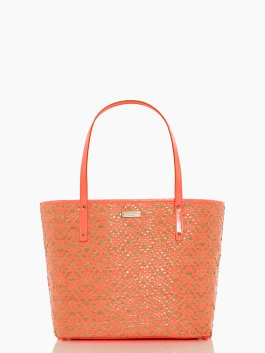 To bring: Coral and gold tote | bayside park small coal | Kate Spade New York