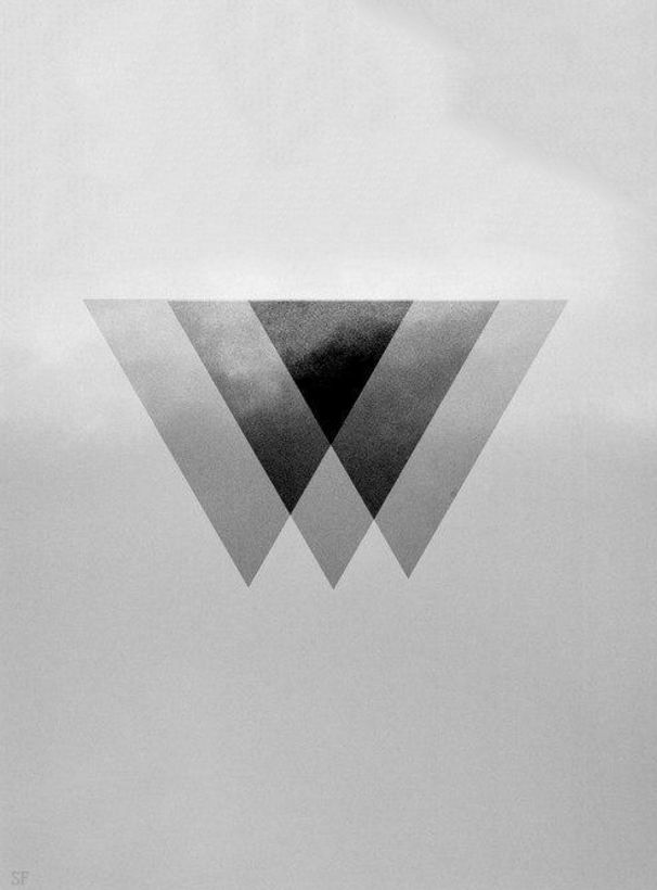 Cool 'Illuminati' triangle- inspiration for Illuminate logo