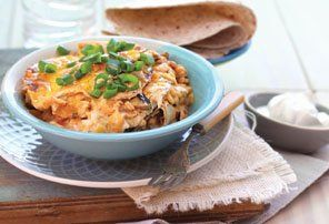 Recipes - Chicken Enchilada bake (serves 4 - 6)