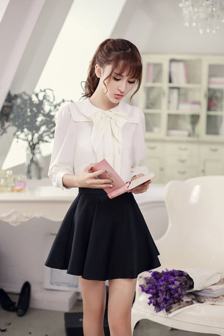 Korean Fashion Amp Japanese Single Color Waist A Word