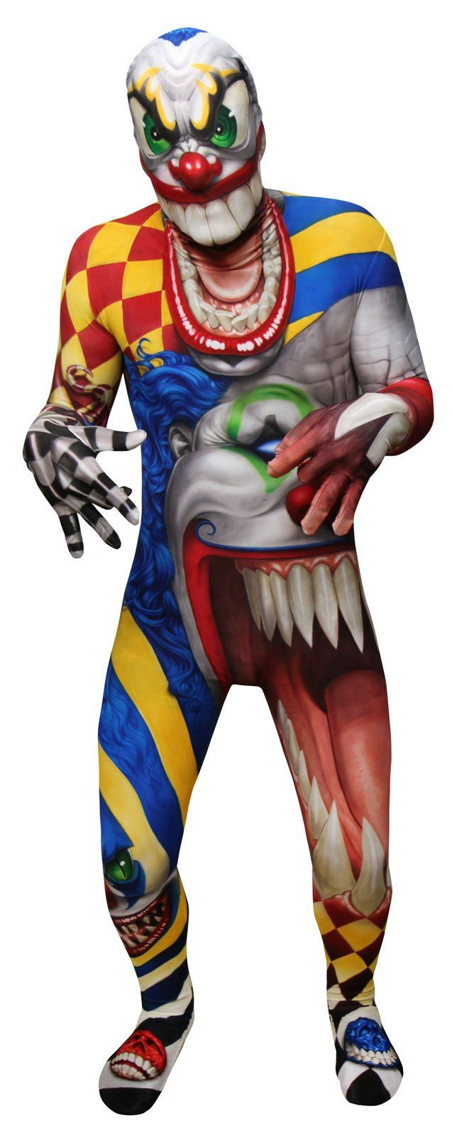 Monster Collection -The Clown Morphsuit Costume For Kids from CostumeExpress.com