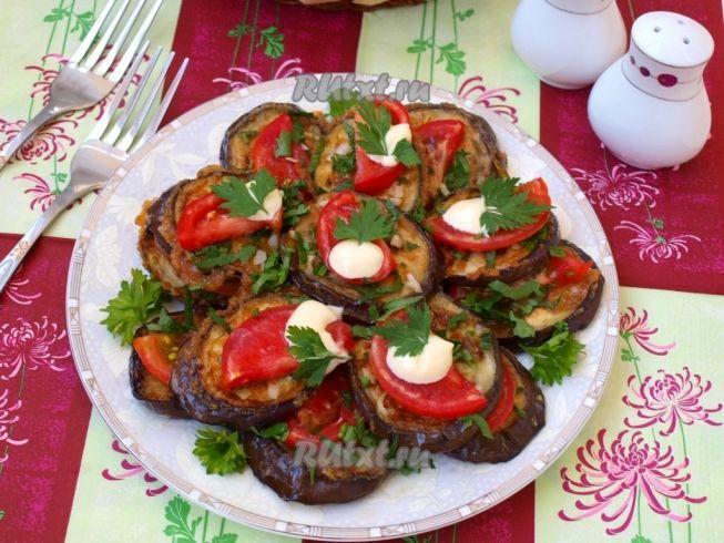 Вкуснейшие блюда из баклажан