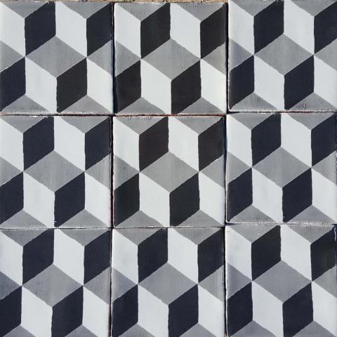 Glazed Black Duchamp Tile | Bert & May