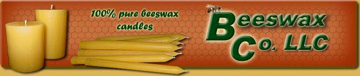 100% Beeswax Candles: Premium Beeswax Candles & Bulk Beeswax