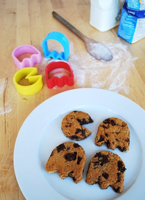 pac-man-cookie