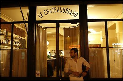 Le Chateaubriand - Self-trained Basque chef Inaki Aizpitarte serves creative and affordable dishes at this low-key but seriously modish haunt just a step from Paris' Goncourt metro