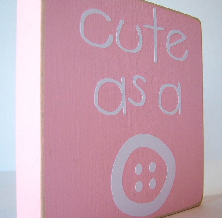 Sign adorable for little girls room vinyl projects for Signs for little girl rooms