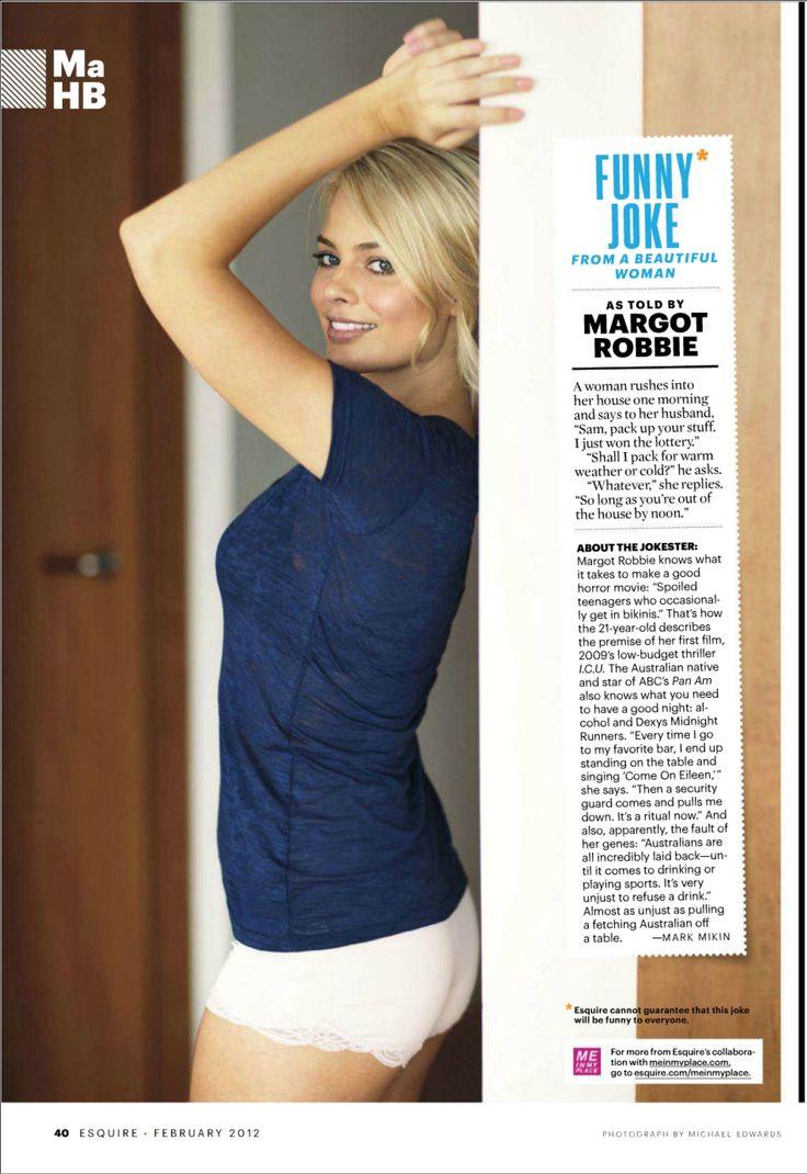 Graceful Margot Robbie