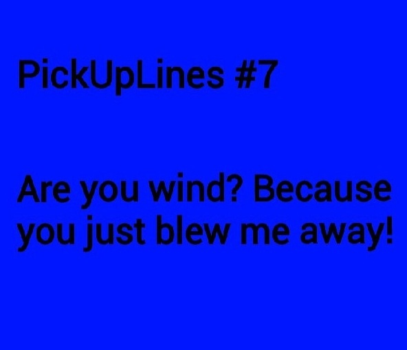 Pick up lines